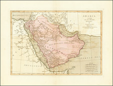 Middle East and Arabian Peninsula Map By Samuel Dunn