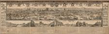 Paris and Île-de-France Map By Nicolas Berey / Alexis-Hubert Jaillot / Noël Cochin