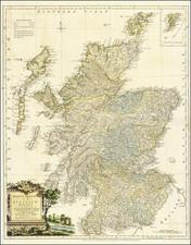 Scotland Map By William Faden