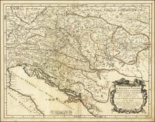 Hungary, Balkans, Croatia & Slovenia, Bosnia & Herzegovina and Serbia & Montenegro Map By Giacomo Giovanni Rossi