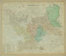 Norddeutschland and Mitteldeutschland Map By Weimar Geographische Institut