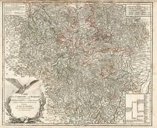 Europe, France and Poland Map By Gilles Robert de Vaugondy