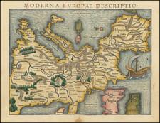 Europe Map By Sebastian Munster