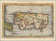 World Map By Lorenz Fries