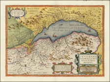 Switzerland and Nord et Nord-Est Map By Jean Le Clerc / Jean Picart