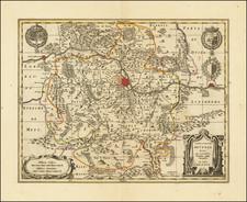 Nord et Nord-Est Map By Gerard Valk / Peter Schenk