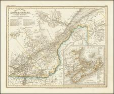 Eastern Canada Map By Joseph Meyer