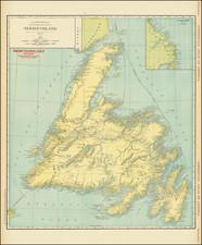 Canada Map By Rand McNally & Company