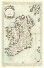 Ireland Map By Depot de la Marine