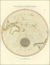 Southern Hemisphere Projected On The Plan of The Horizon of London By Geo. Buchanan By John Thomson