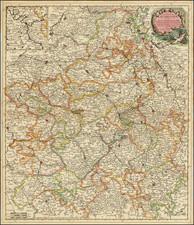 Nord et Nord-Est Map By Cornelis II Danckerts