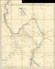 Egypt and North Africa Map By Edward Stanford