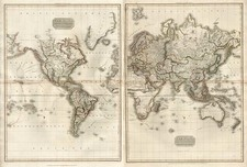 World, World, Atlantic Ocean, Australia & Oceania and Oceania Map By John Pinkerton