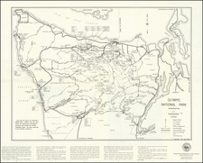 Washington Map By United States Department of the Interior