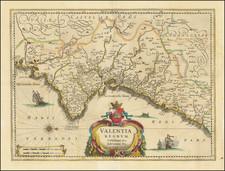 Spain Map By Jan Jansson