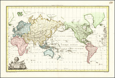 World and World Map By Conrad Malte-Brun