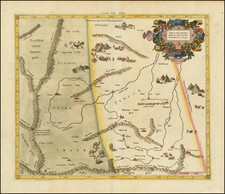 China Map By  Gerard Mercator