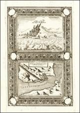 Sicily Map By Vincenzo Maria Coronelli
