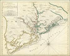 South Carolina Map By Pierre Mortier