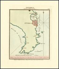 Sud et Alpes Française Map By John Luffman