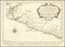 West Africa Map By J.V. Schley