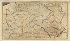Pennsylvania Map By Jedidiah Morse