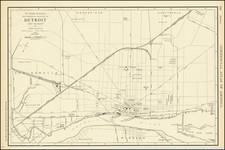 Michigan Map By Rand McNally & Company