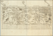 Holy Land Map By Claudius Ptolemy