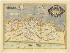 North Africa Map By