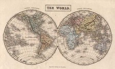 World and World Map By Adam & Charles Black