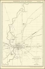 Indiana Map By Rand McNally & Company