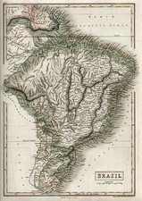 South America Map By Adam & Charles Black