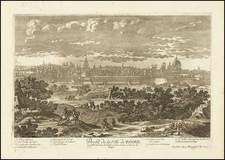Rome Map By Pierre Alexander Aveline