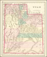 Utah and Utah Map By O.W. Gray