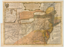 United States, Mid-Atlantic and Midwest Map By Lewis Evans