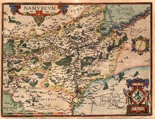 Europe and Netherlands Map By Abraham Ortelius
