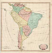 South America Map By S.I. Neele