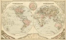 World and World Map By O.W. Gray