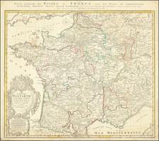 France Map By Homann Heirs