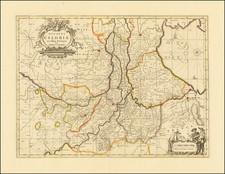 Netherlands Map By Valk & Schenk