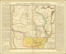 Arkansas, Midwest, Plains and Missouri Map By Henry Charles Carey  &  Isaac Lea