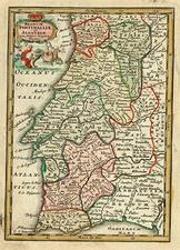 Europe and Portugal Map By Adam Friedrich Zurner / Johann Christoph Weigel
