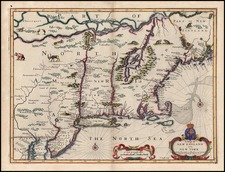 New England, Mid-Atlantic and Canada Map By John Speed
