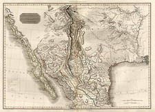 Texas, Plains, Southwest and Rocky Mountains Map By John Pinkerton