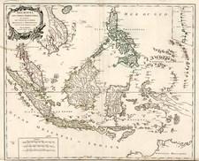 Asia, Southeast Asia, Philippines, Australia & Oceania and Australia Map By Didier Robert de Vaugondy
