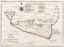 New England Map By Pierre Antoine Tardieu