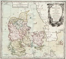 Europe and Scandinavia Map By Louis Brion de la Tour