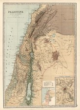 Asia and Holy Land Map By T. Ellwood Zell