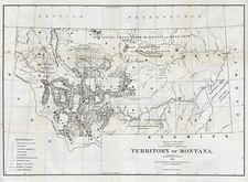 Plains and Rocky Mountains Map By General Land Office