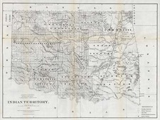 Plains Map By General Land Office